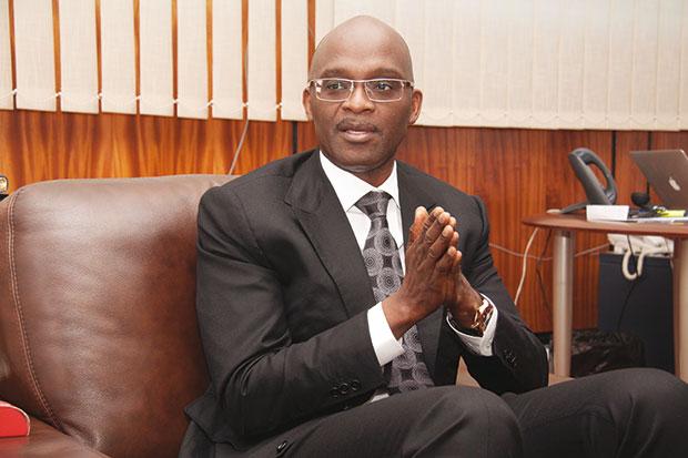 Alioune Camara, Président de l'Association Professionnelle des Banques et Etablissements financiers du Sénégal