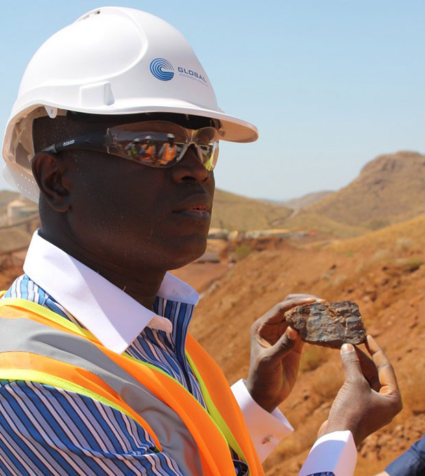 Aly Ngouille Ndiaye Ministre de l'Industrie et des Mines