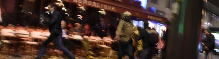 Dans la panique des attentats à Paris