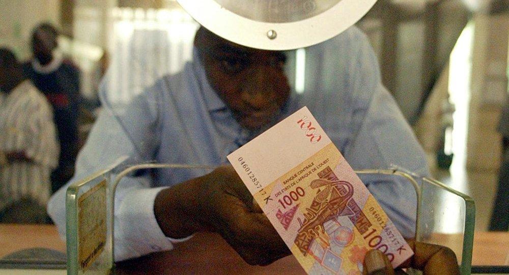 Un billet de 100FCFA de la zone d'Afrique de l'Ouest